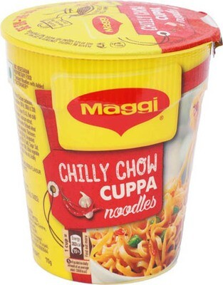 MAGGI CUP NOODLES (CHILLI CHOW) 70g