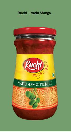 RUCHI MAGIC PICKLE VADU MANGO 300 GM