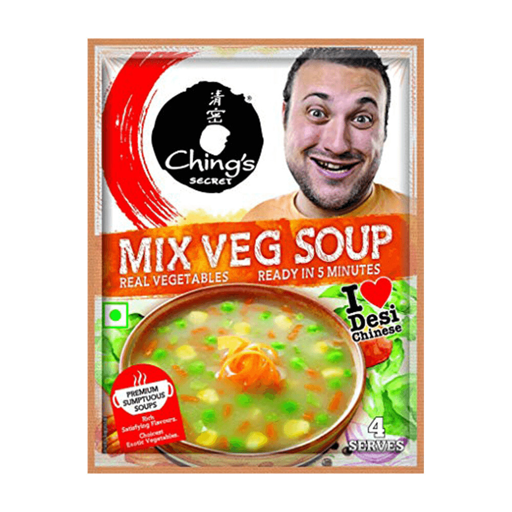 CHING'S MIXED VEG. SOUP POWDER 50G
