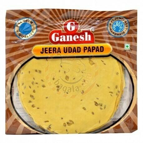 GANESH JEERA URAD PAPAD200 GM