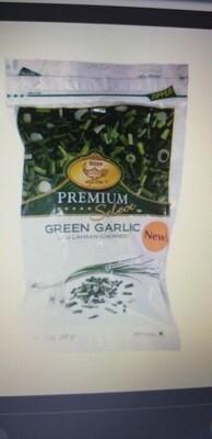 DEEP FROZEN GREEN GARLIC 12 oz