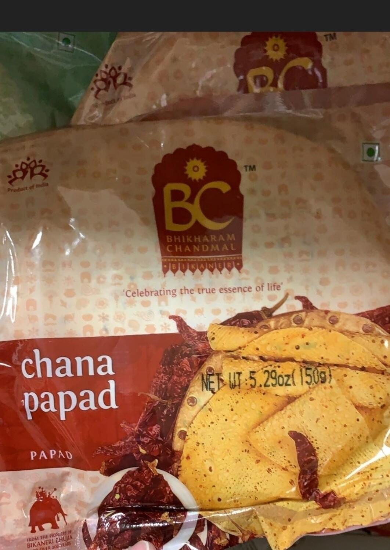 BC CHANA PAPAD 150 GM