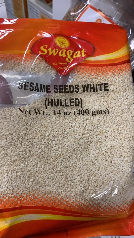 SWAGAT SESAME SEED WHITE 400gm