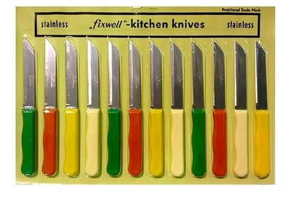 FUXWELL KNIFE  3 Pc