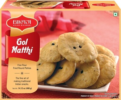 BIKAJI GOL MATHI 400gm