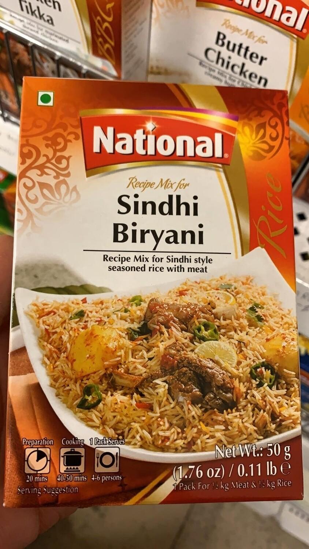 NATIONAL RECIPE (SINDHI BIRYANI) 50G