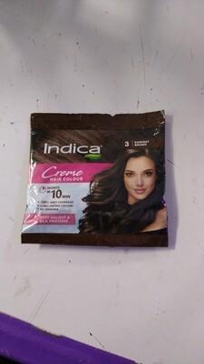 INDICA CREME HAIR COLOR DARKEST Brown  40ml