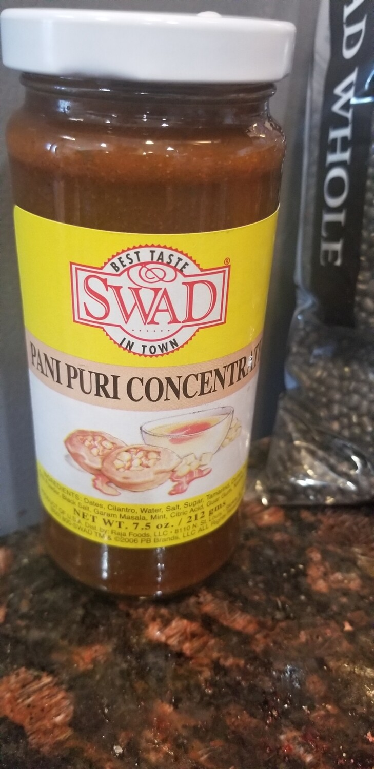 SWAD PANIPURI CONCENTRATE 7.5OZ