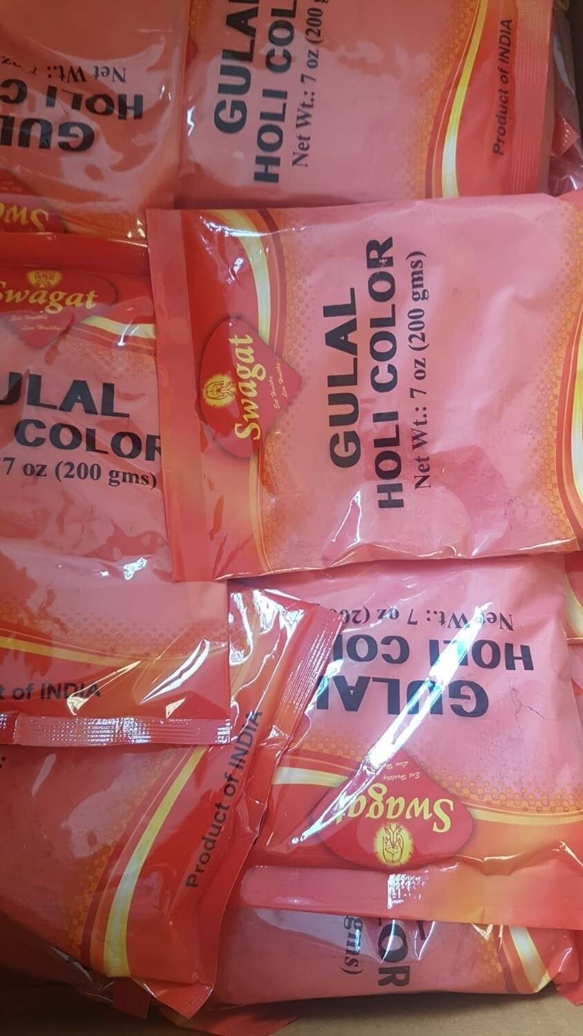 SWAGAT HOLI COLOR GULAL 200 GM