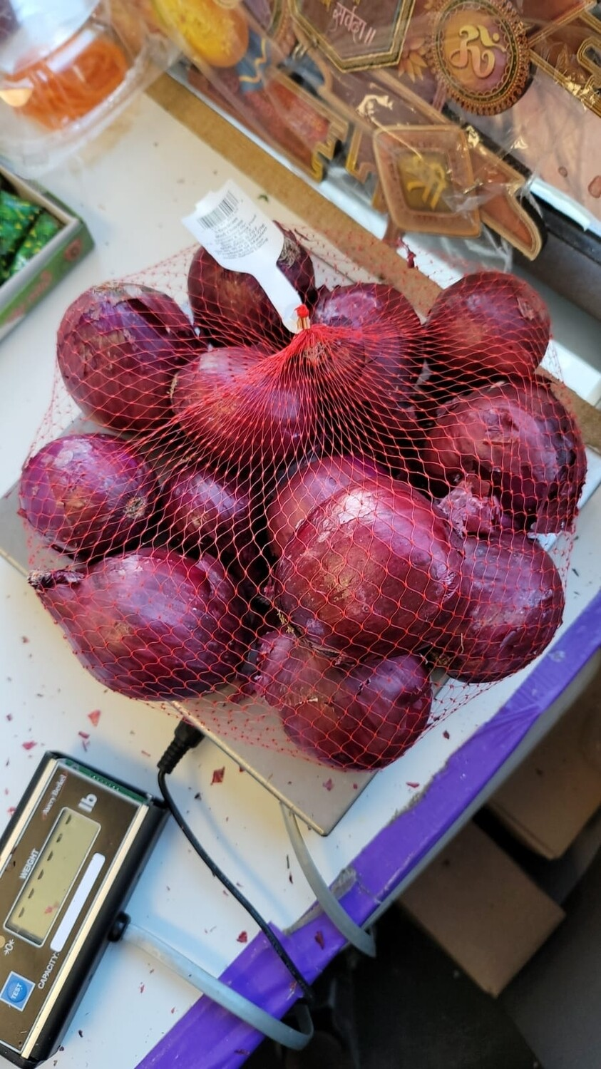 ONION RED 5LB
