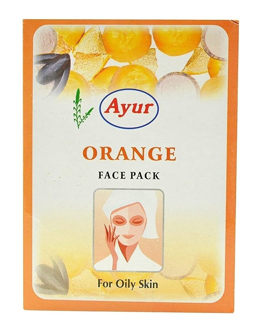 Ayur Orange Face Pack 100gm
