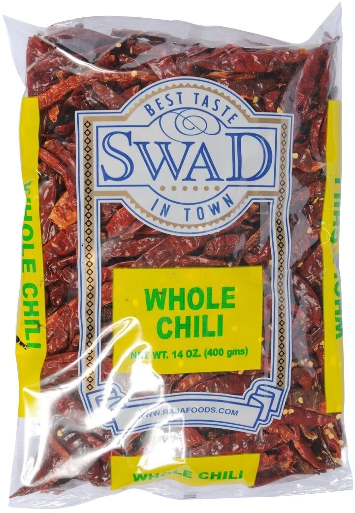 SWAD RED CHILLI WHOLE 14OZ
