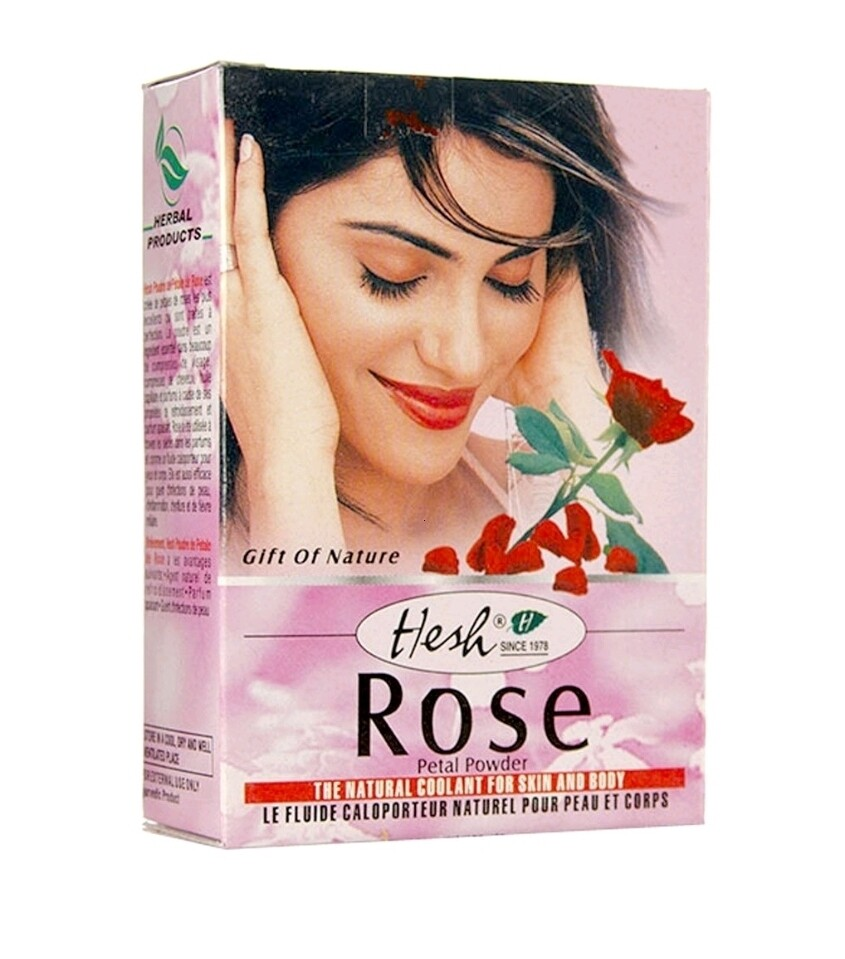 HESH ROSE PETAL POWDER 50gm