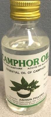 Ashwin Camphor Oil 100ml