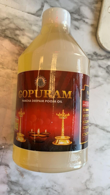 GOPURUM  Pooja Oil 500 ML
