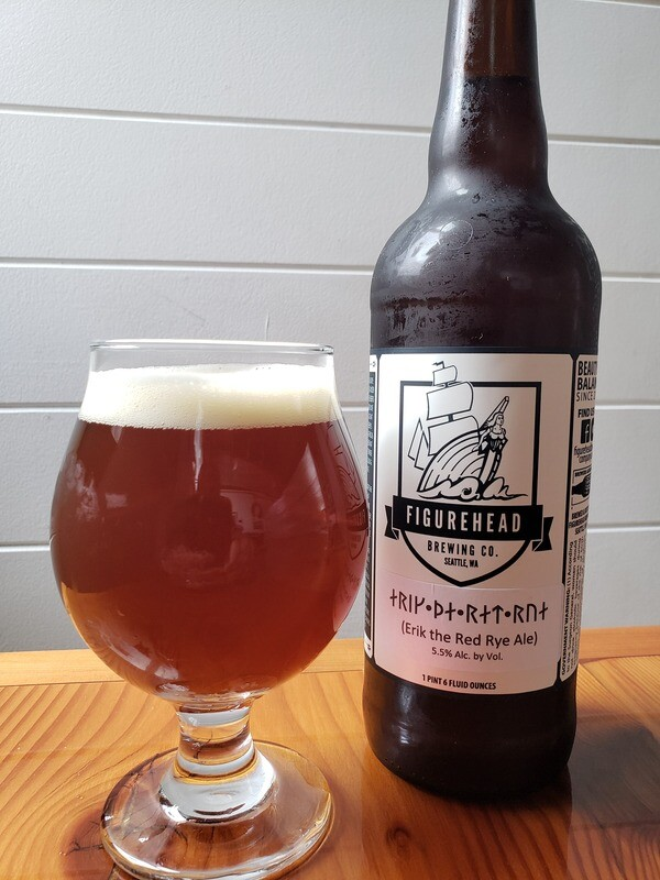 Erik the Red Rye (Red Ale) 22oz
