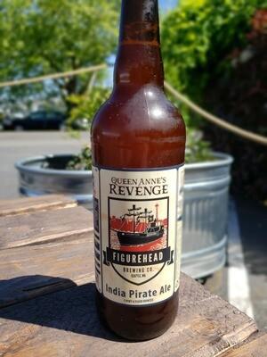 Queen Anne's Revenge (India Pirate Ale) 22oz