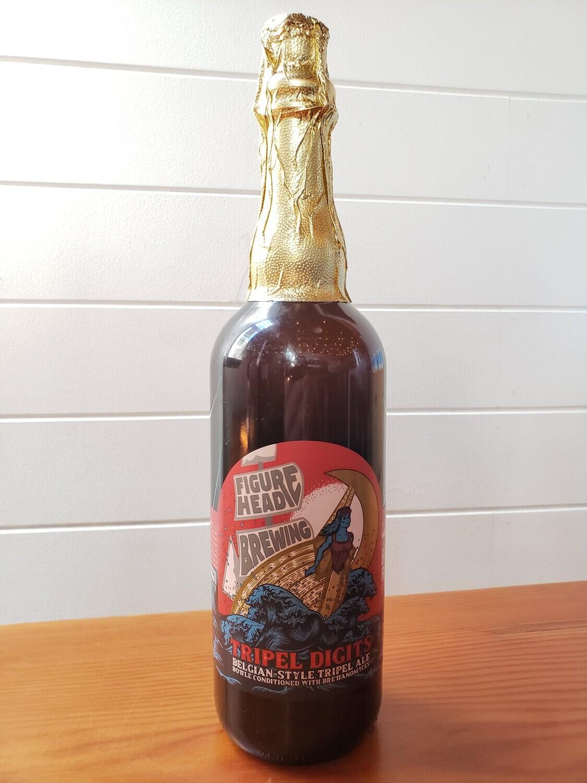Tripel Digits Bottle Conditioned w/ Brettanomyces (Belgian-style Tripel) 750ml