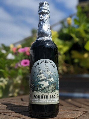 4th Leg - Bottle Conditioned w/ Brettanomyces (Russian Imperial Stout) 750ml