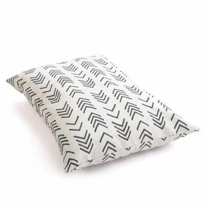 Modern Mud Cloth Dog Bed Cover & Insert