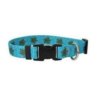 Sea Turtles Dog Collar
