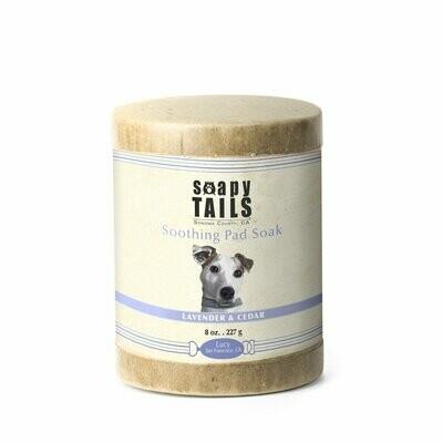 Soapy Tails Pad Soak Lavender and Eucalyptus 8 oz.