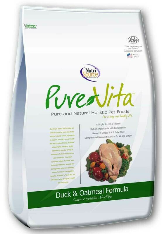 PureVita Duck & Oatmeal