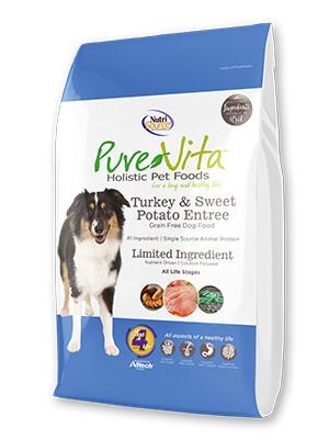 PureVita Grain Free Turkey & Sweet Potato