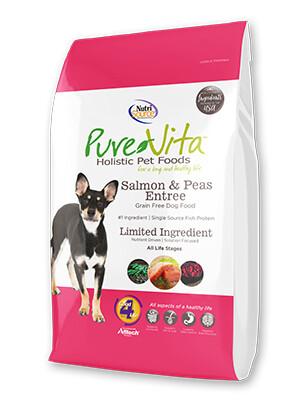 PureVita Grain Free Salmon & Pea
