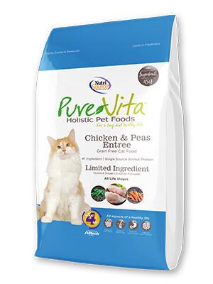 PureVita Grain Free Chicken & Peas Cat Food