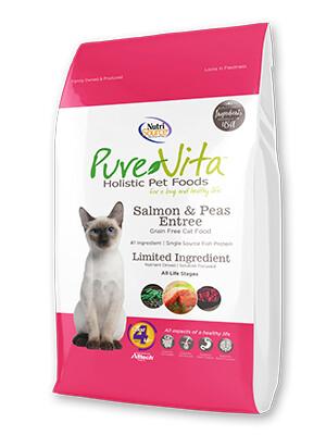 PureVita Grain Free Salmon & Peas Cat Food