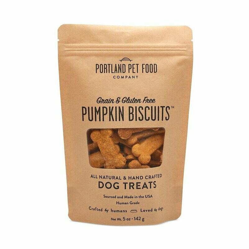 Portland Pet Food Company Gluten Free Pumpkin Dog Biscuits