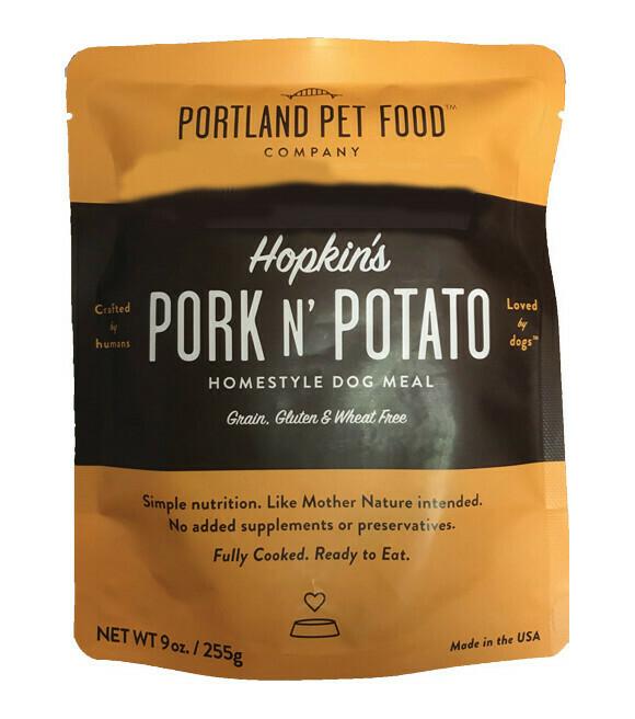 Portland Pet Food Company Hopkins Pork N Potato Meal