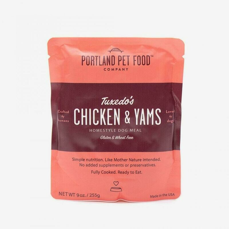 Portland Pet Food Company Tuxedos Chicken & Yam Meal