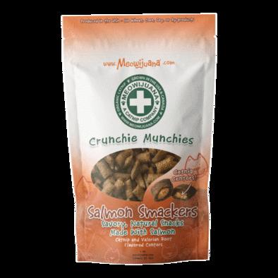 Meowijuana Crunchy Munchie Salmon