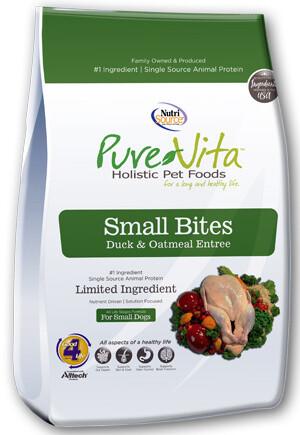 PureVita Small Bites Duck & Oatmeal Entrée
