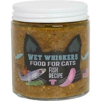 Wet Whiskers Fish Cat Food 4 oz.