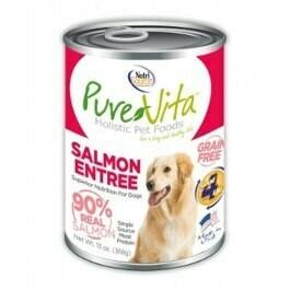 PureVita Grain Free Salmon Entree Dog