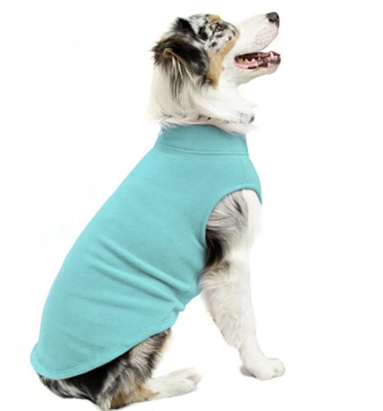 Gooby Stretch Fleece Vest- Mint