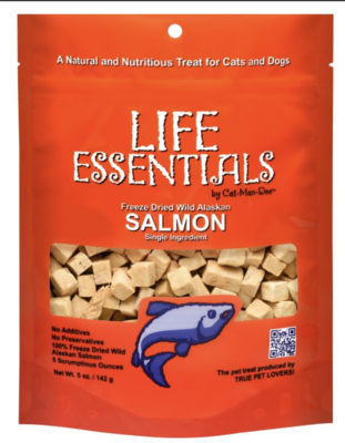 Cat Man Doo Freeze Dried Salmon Cubes