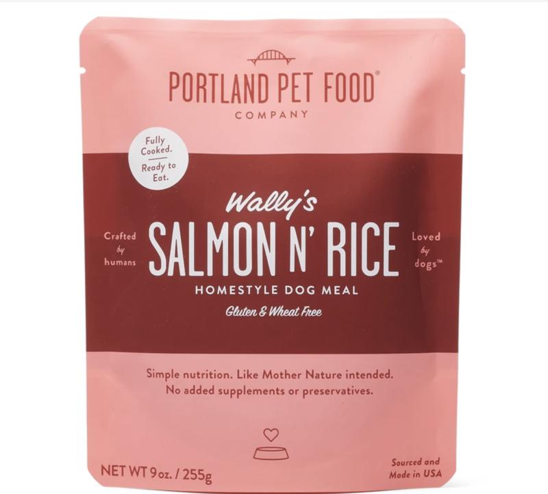 Portland Pet Food Company Wally's Salmon N Rice