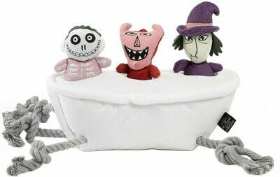 Chew Toy NBC Lock, Shock, and Barrel Bath Tub