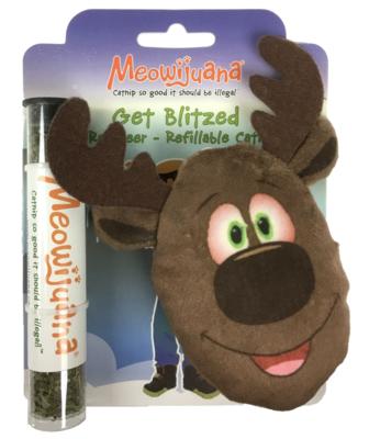 Meowijuana Get Blitzed Reindeer