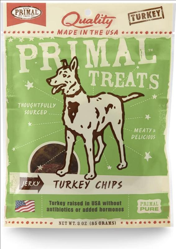 Primal Treats Turkey Chips