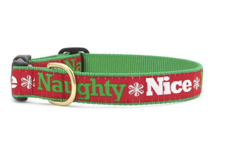 Up Country Naughty and Nice Dog Collar