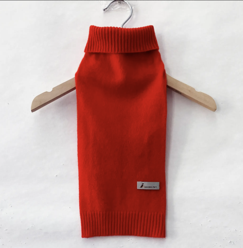 Nooee Pet Cashmere Sweater - Red
