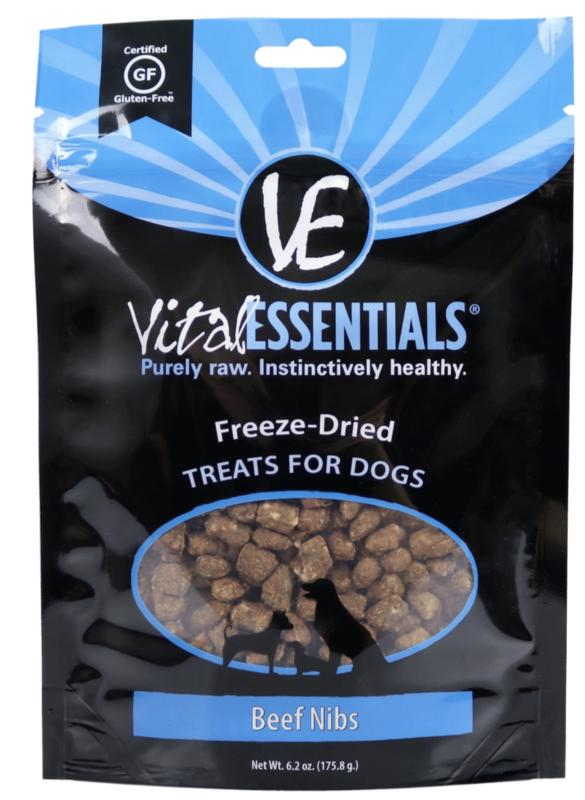 VItal Essentials Beef Nib FD Treat 6.2 oz.