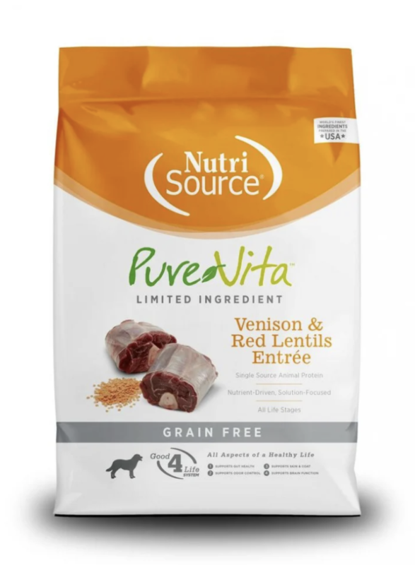 Pure Vita Venison & Red Lentils