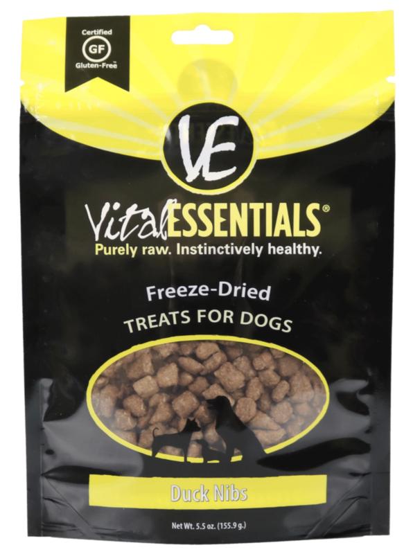 VItal Essentials Duck Nib FD Treat 5.5 oz.