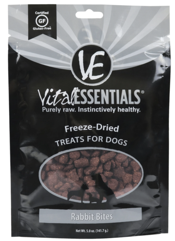VItal Essentials Rabbit Bite FD Treat 5.0 oz.